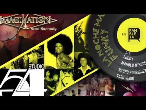 """IMAGINATION EN CONCIERTO + """"SESIÓN STUDIO 54"""" EN LA RAMBLETA 4/3/16"""